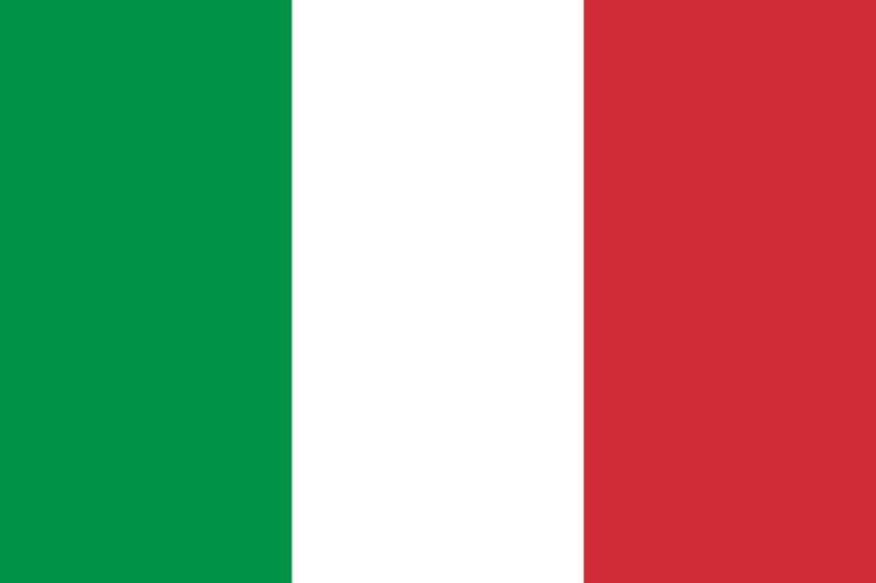 Bendera negara italia