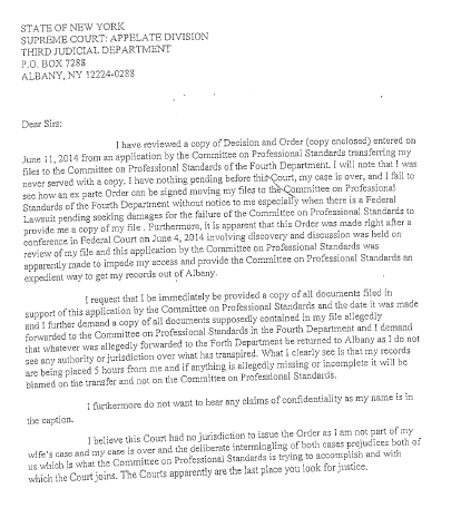 deputy head girl letter