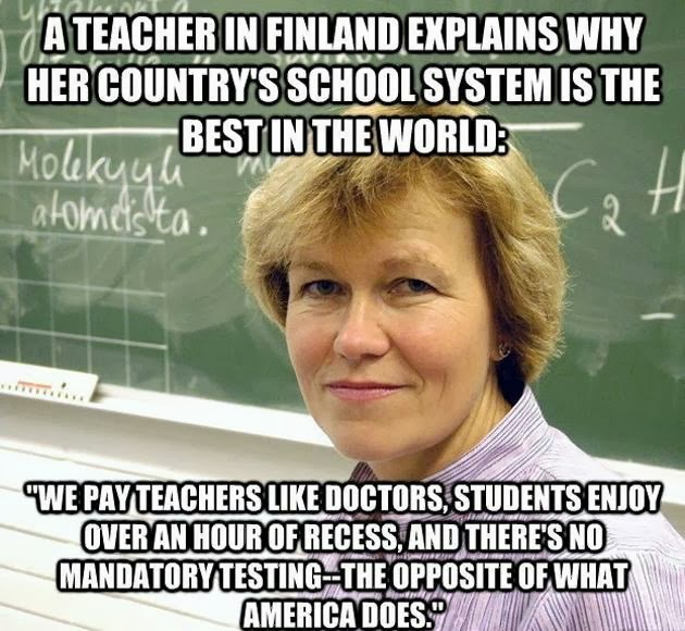 ecuadors adoption of finlands education system Education finnish schools are on the move—and america's need to catch up a new initiative in finland reveals that physical activity should be an everyday classroom routine.