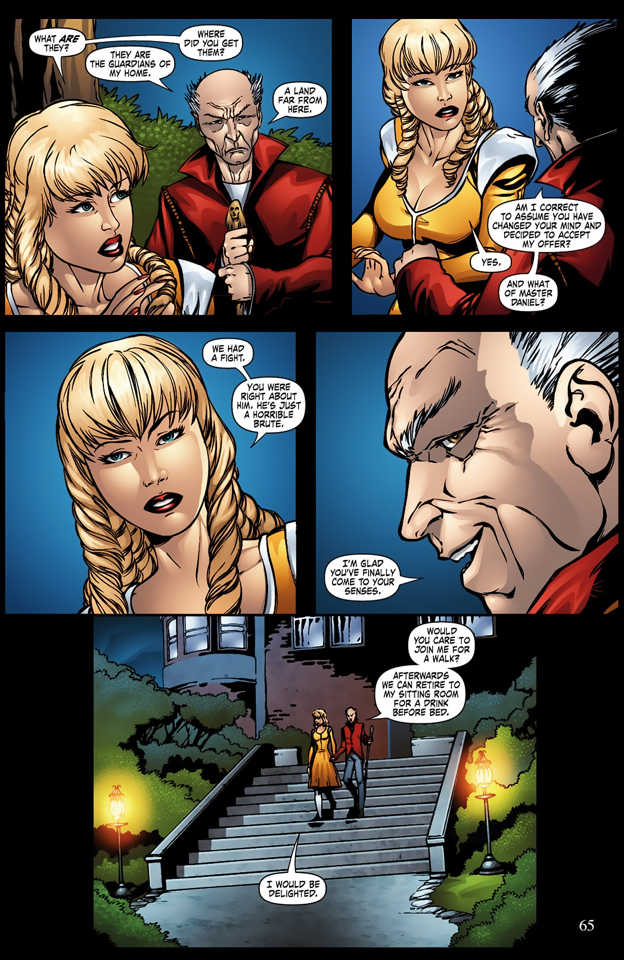 Grimm Fairy Tales (2005) Issue #9 #12 - English 12