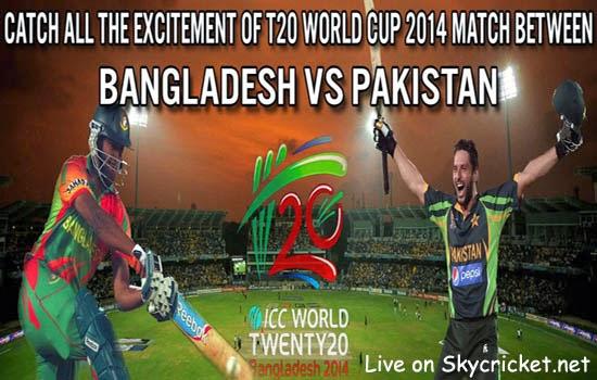 Pakistan V Bangladesh ICC T20 International