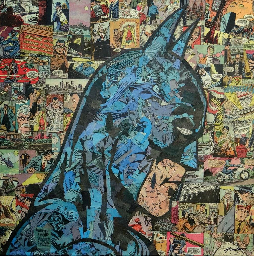 22-Batman-2-Mike-Alcantara-Comic-Collage-Art-www-designstack-co