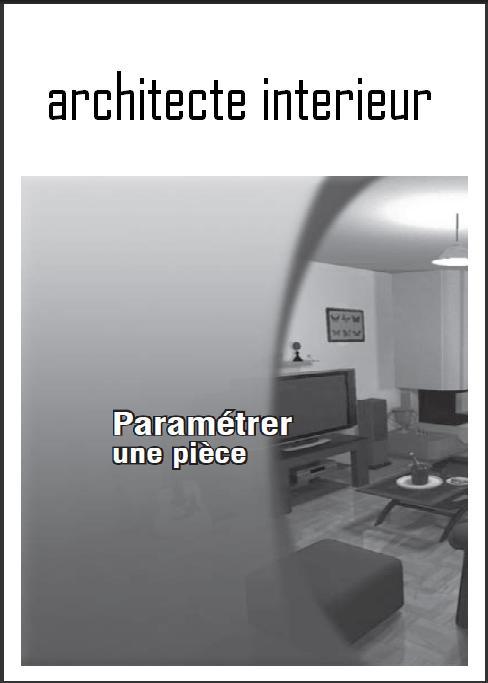 architecte interieur livre programme book batiment architecture. Black Bedroom Furniture Sets. Home Design Ideas