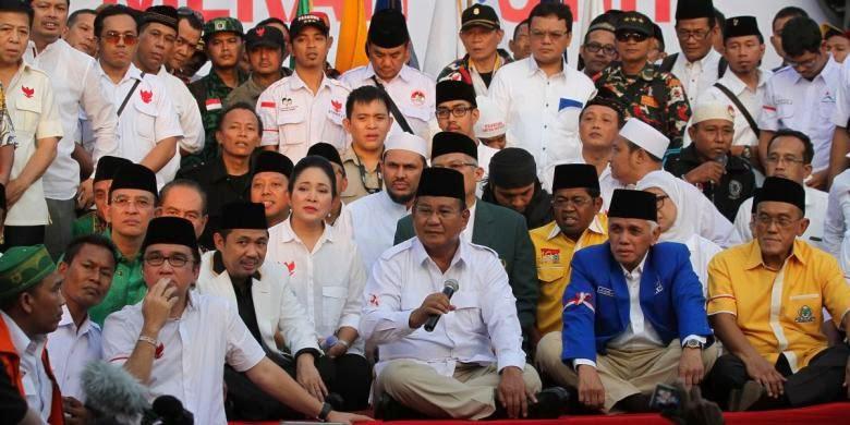 Berhasil Menangkan Pilkada lewat DPRD, Prabowo Bangga Koalisi Merah Putih