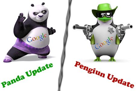 Panda & Pinguin