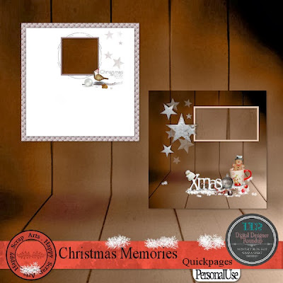 New kit Christmas Memories, Facebook Freebie and Black Friday Sale
