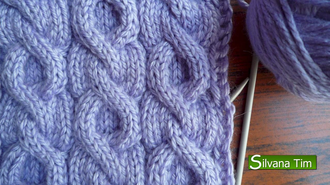 Silvana tim tejido con dos agujas puntos patrones de - Como hacer ochos de punto ...