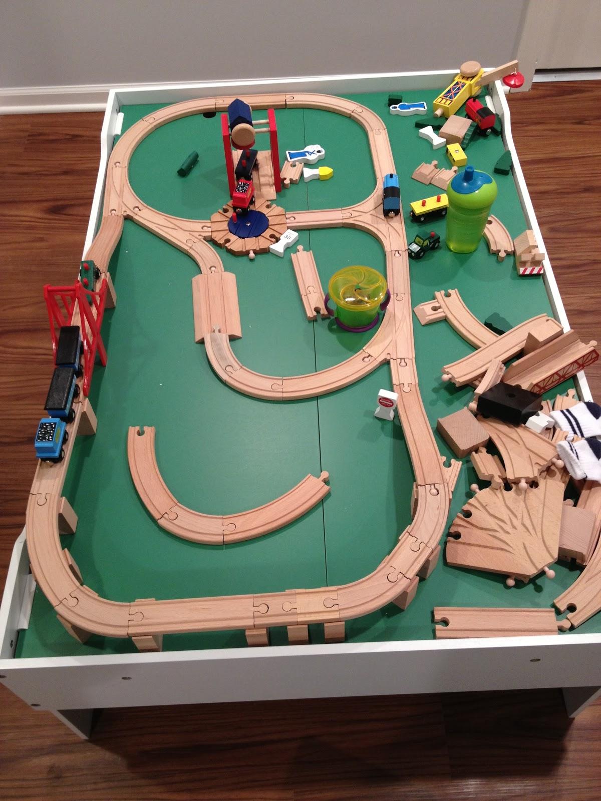 melissa and doug train table instructions
