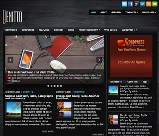 WordPress-Template Denitto