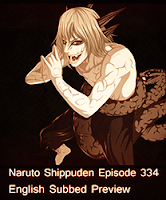 Kabuto Sage Mode Naruto Shippuden Episode 334