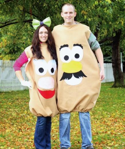 mr & mrs potato head diy costume