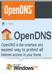 Open DNS Windows XP