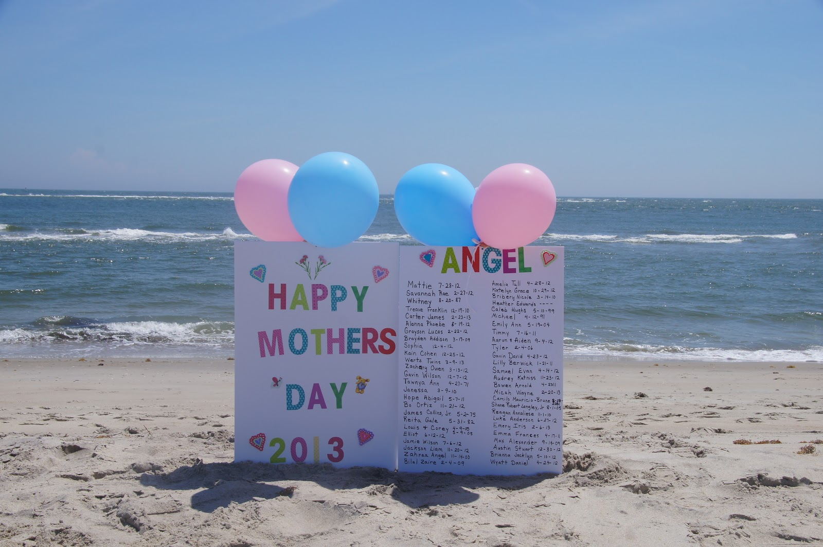 Fittsies Angel Birthday Balloons Fittsies Angel Baby Mothers Day
