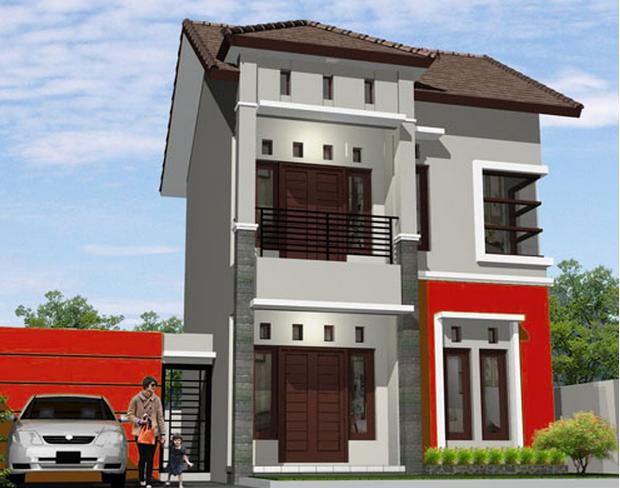 Gambar Desain Model Rumah Minimalis Sederhana Type 21