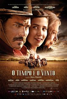 """Poster do filme """"O Tempo e o Vento"""""""