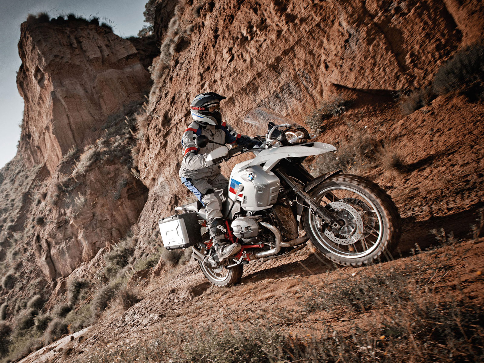 2012 BMW R1200GS Rallye Desktop Wallpapers, Review