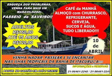 5º PASSEIO DE SAVEIRO!!!!