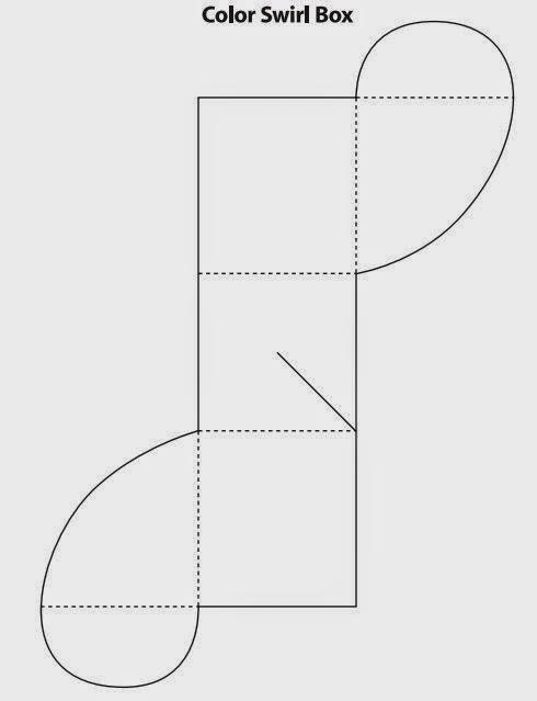 Caja con cierre ondulado