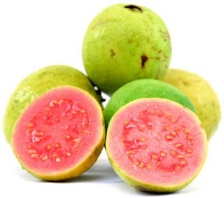red guava fruits