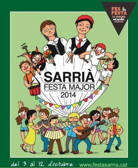 Festa Major Sarrià 2014