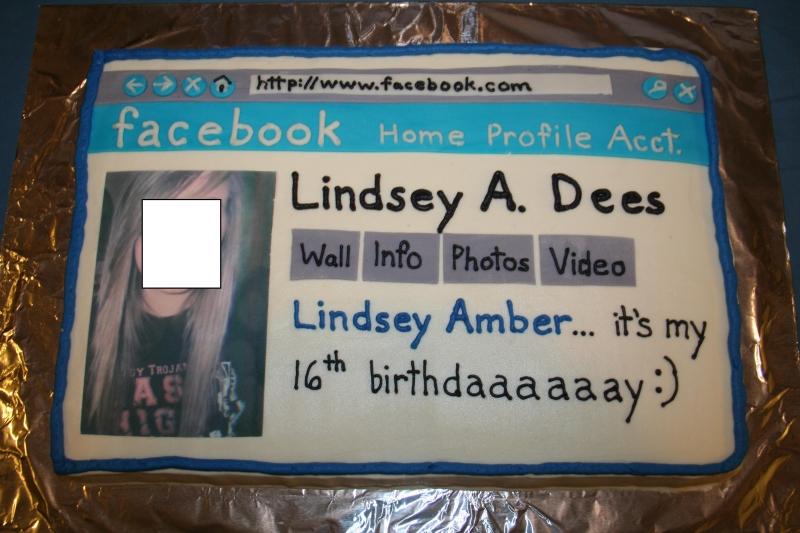 Facebook Cake The Invincible World