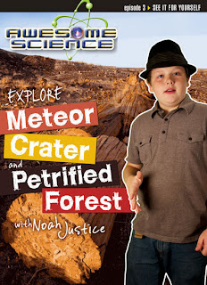 Explore Meteor Crater & Petrified Forest with Noah Justice DVD