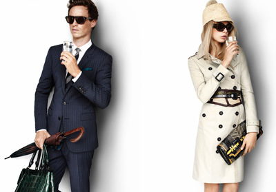burberry spring summer 2012 ad campaign