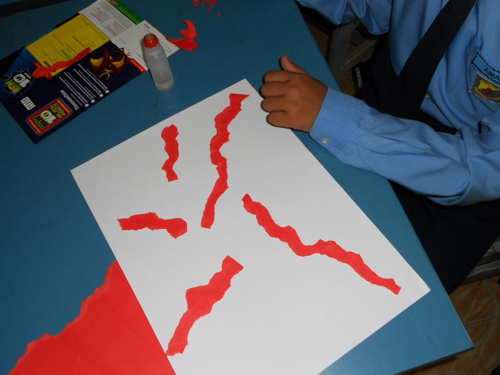 pendidikan seni visual: hasil kerja murid tahun 6