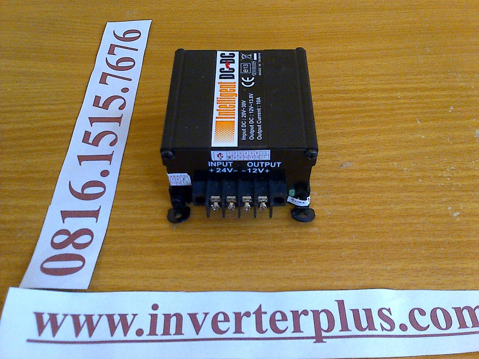 Converter 24VDC ke 12VDC 10 Ampere Taiwan