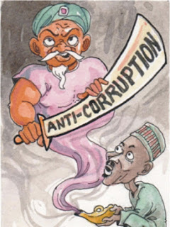 Buhari's anti-corruption