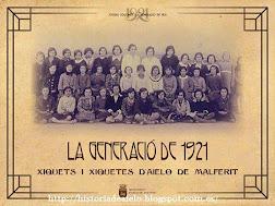 LA GENERACIÓ DE 1921