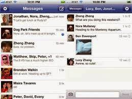 Tìm bạn bè trên facebook messenger cho iphone