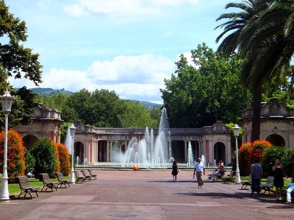 bilbao espagne gran via parc dona casilda de iturrizar