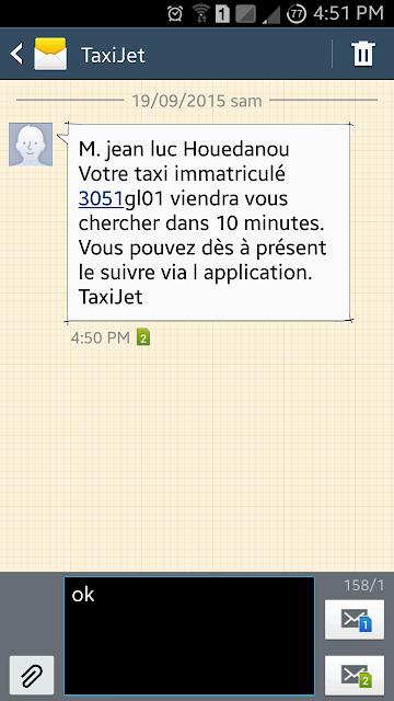 J'ai testé Taxijet ( @TaxiJetCI ), A Unix Mind In A Windows World