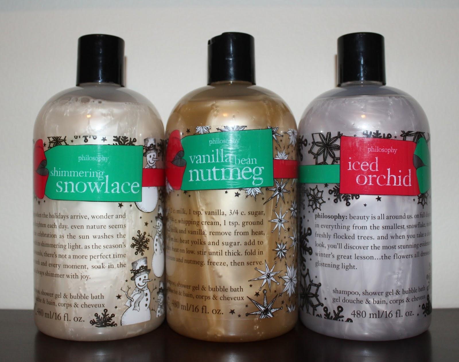 beyond blush philosophy holiday 2015 gift ideas philosophy holiday 3 in 1 shampoo shower gel bubble bath