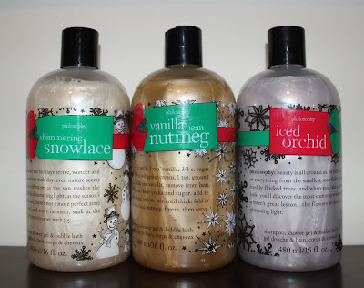 Philosophy Holiday 3-in-1 Shampoo, Shower Gel & Bubble Bath