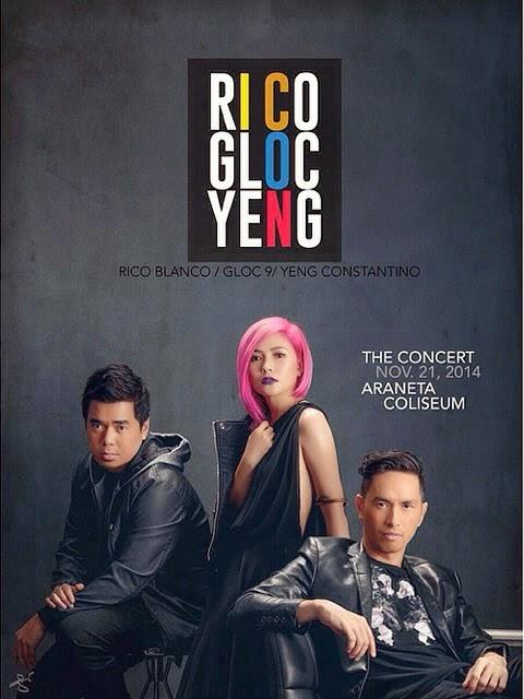 Rico Gloc 9 Yeng Concert