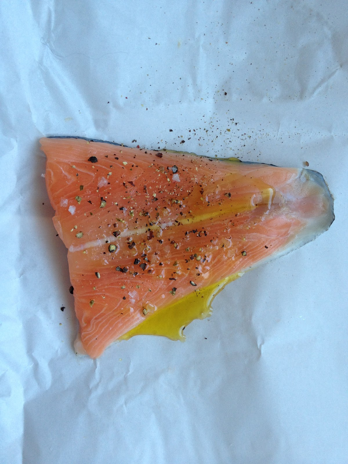 I Think This Is The Easiest Way To Cook Salmon Tail Fillets, Which Are  Often On The Skinny Side Plus, It's A Great Method For Firsttime Cooks,