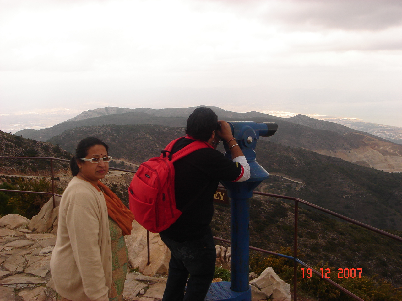 Viewing Point at Mount Benamadina,Costa del Sol