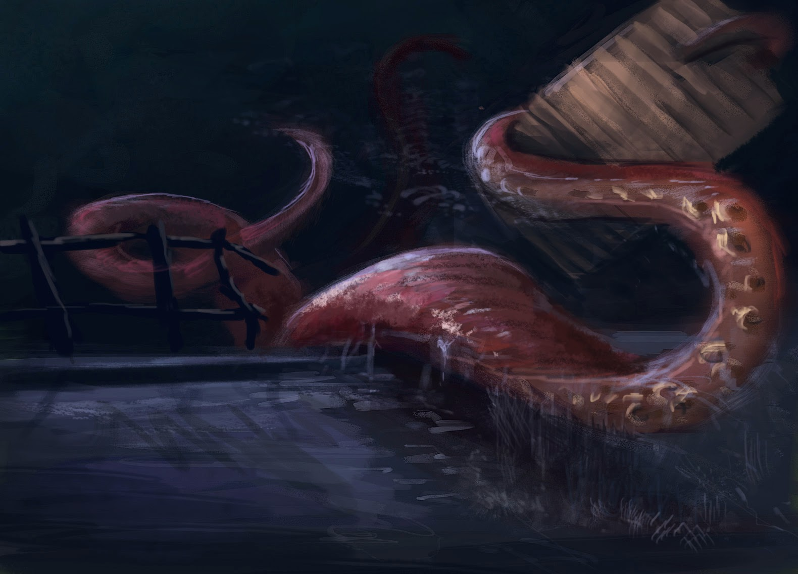 Octopus Attacking Human Octopus Attack Human