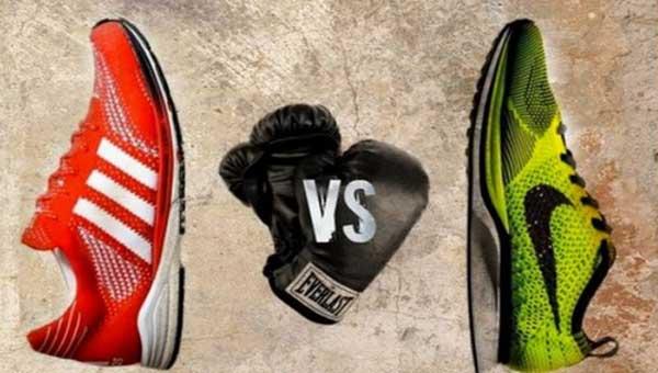 Nike Flyknit versus Adidas Primeknit