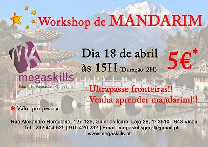 Workshop de Mandarim em Viseu