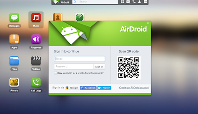 AirDroid on Mac