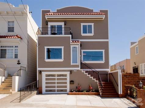 Modern Homes Designs Front Views San Francisco USA.
