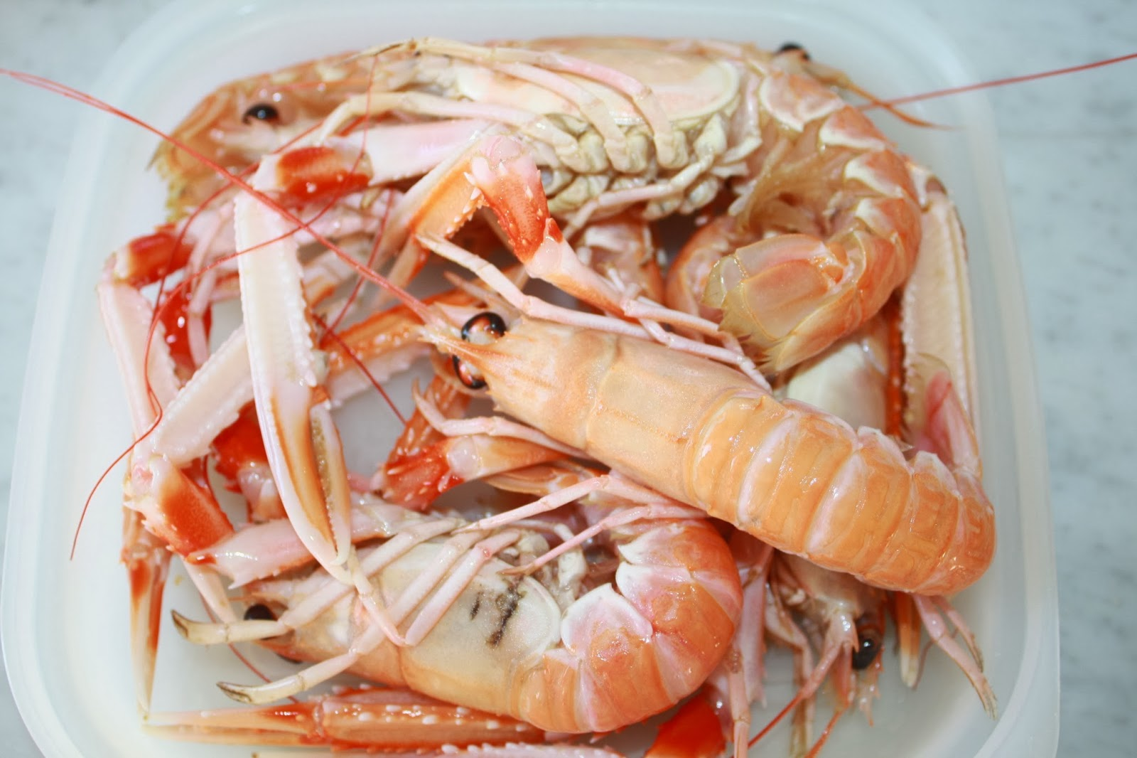zuppa pesce scampi