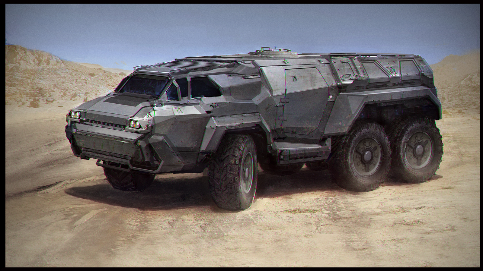 Ground Vehicles Available SamBrown-vehicle46b