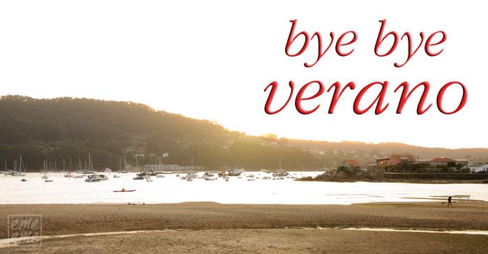 bye bye verano