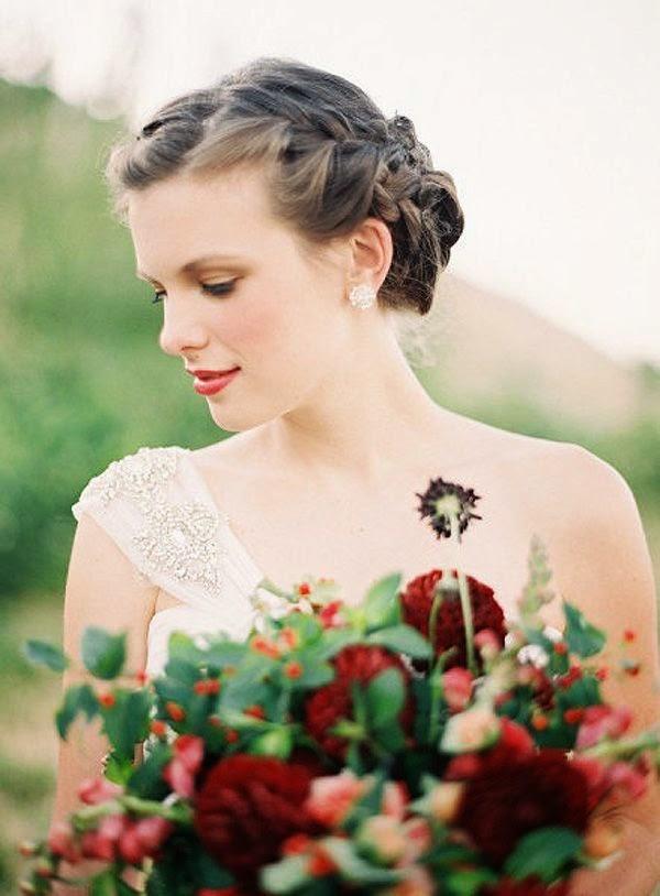 peinados 2015 trenzas novias