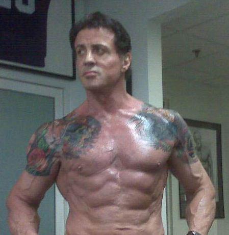 Tatuaje Calavera Johnny Depp 13 tattoos - tattoos 2012: sylvester stallone tattoos