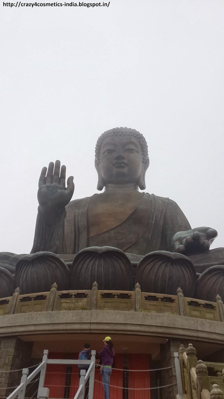 Lantau Island Big Buddha hongkong